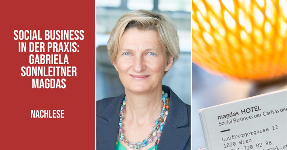 Social Business in der Praxis mit Gabriela Sonnleitner I Follow Up