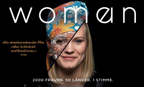 """Gewinnt 2×2 Karten für den Film """"Woman"""""""