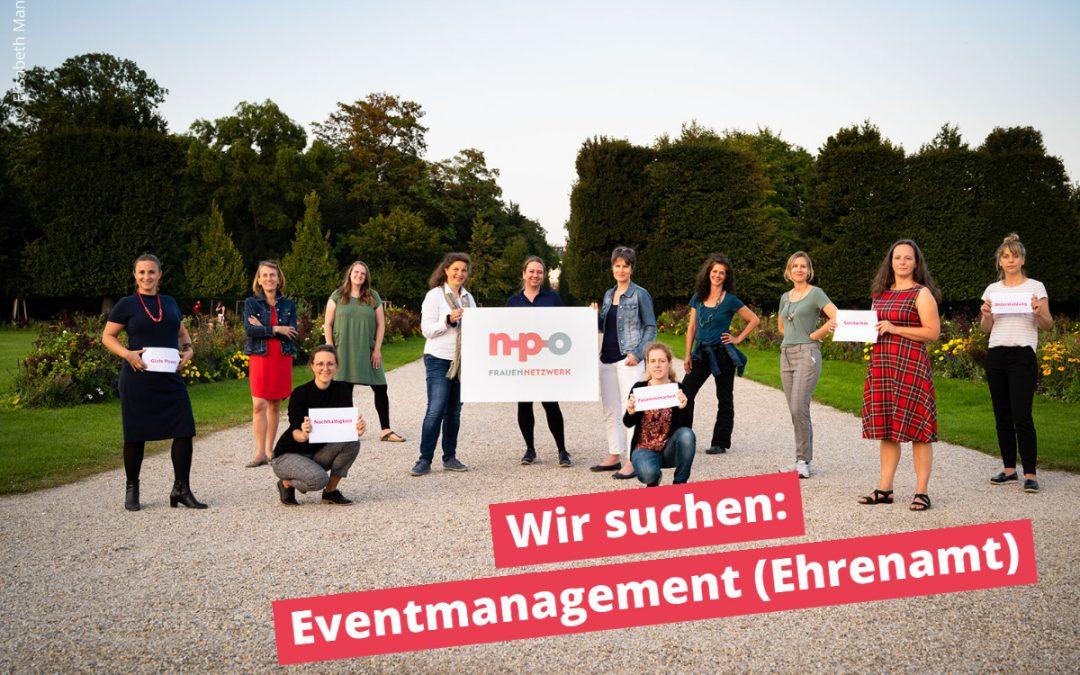 Wir suchen: Eventmanagement