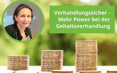 Verhandlungssicher- Mehr Power bei der Gehaltsverhandlung
