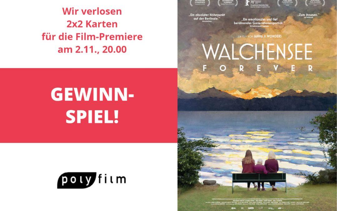 """Gewinnspiel """"Walchensee Forever"""""""